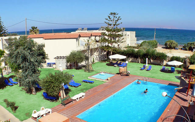 Grecja - KRITZAS BEACH BUNGALOWS & SUITES