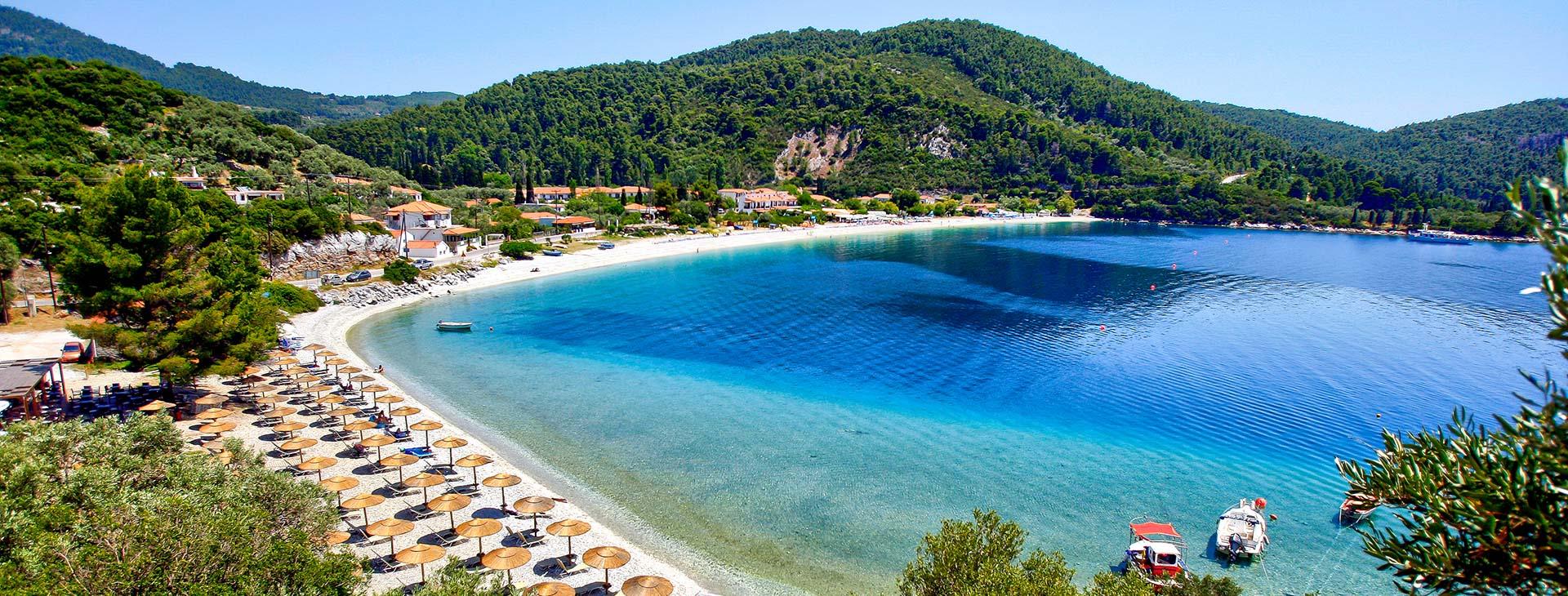Hotel Blue Green Bay 4* • Skopelos
